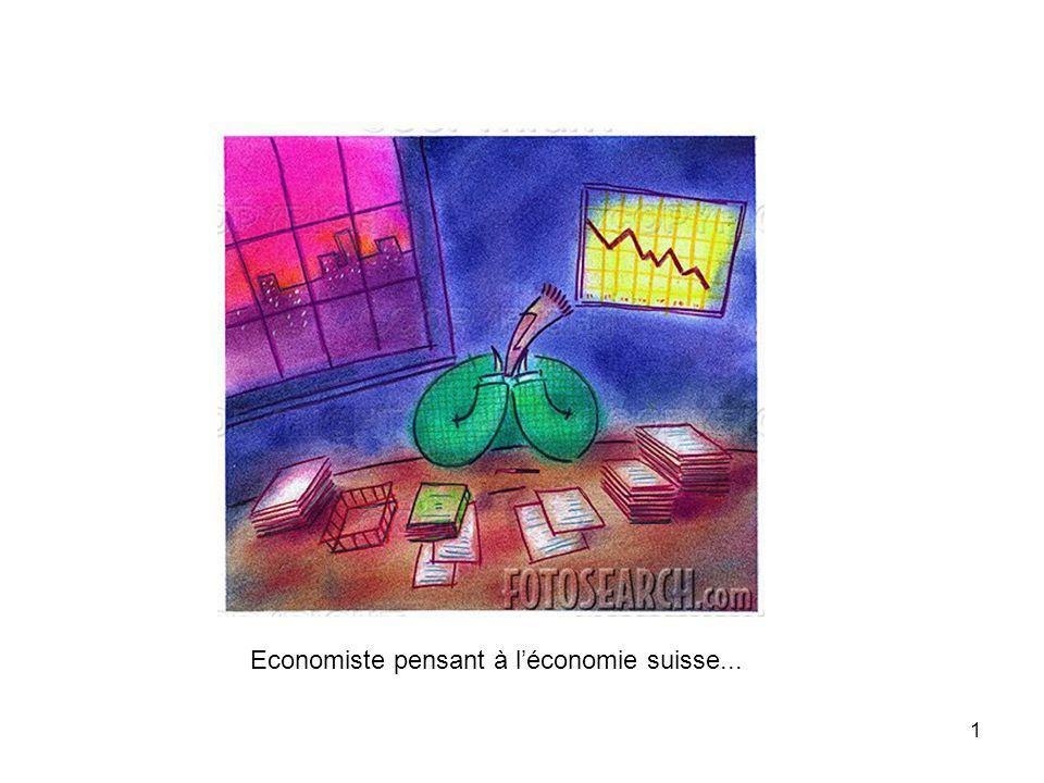 1 Economiste pensant à léconomie suisse...