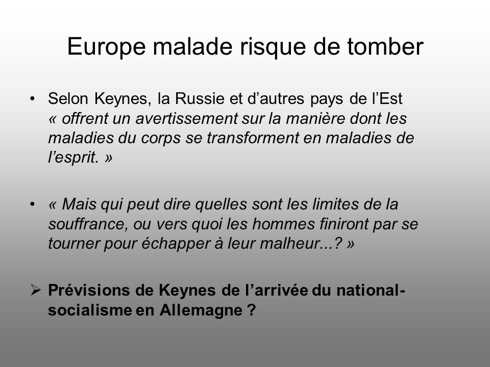 Risques de limpression de monnaie Virulente critique de Keynes à légard de limpression excessive de monnaie Lénine: « Cest la meilleure façon de détru