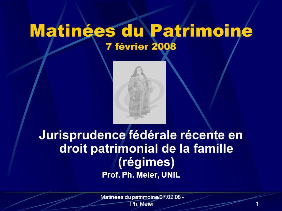 Matinées du patrimoine/07.02.08 - Ph. Meier11 Fin de la dégustation!