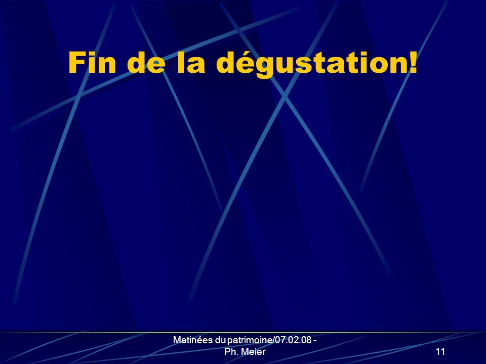Matinées du patrimoine/07.02.08 - Ph. Meier10 6. Récompense variable et assurance-vie (art.