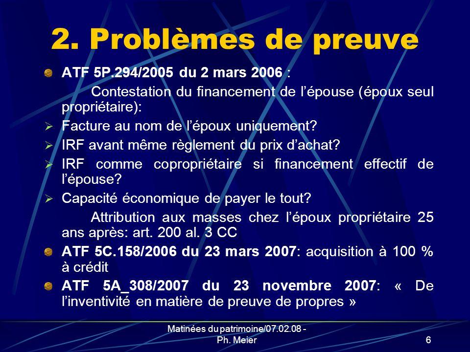 Matinées du patrimoine/07.02.08 - Ph.Meier6 2.