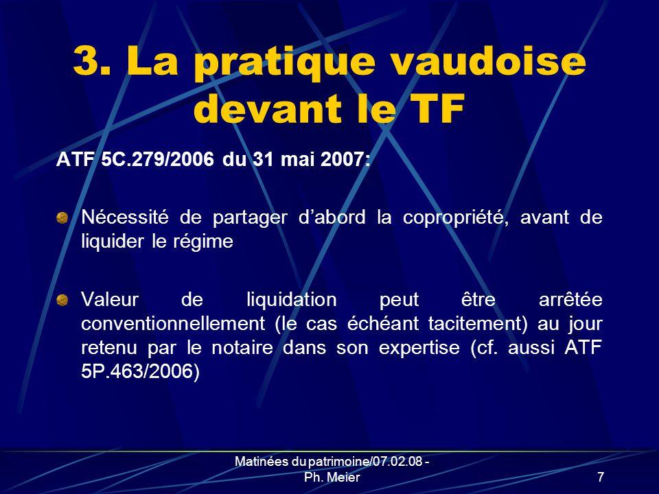 Matinées du patrimoine/07.02.08 - Ph. Meier6 2.