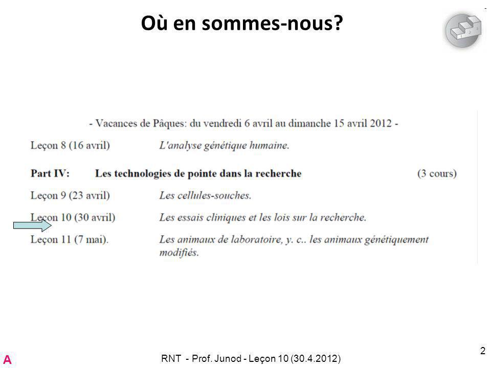RNT - Leçon 10 (2.5.2011)73