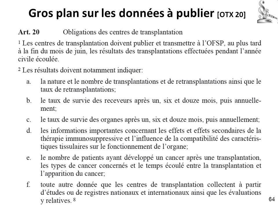 Gros plan sur les données à publier [OTX 20] RNT - Prof. Junod - Leçon 6 (26.3.2012) 64