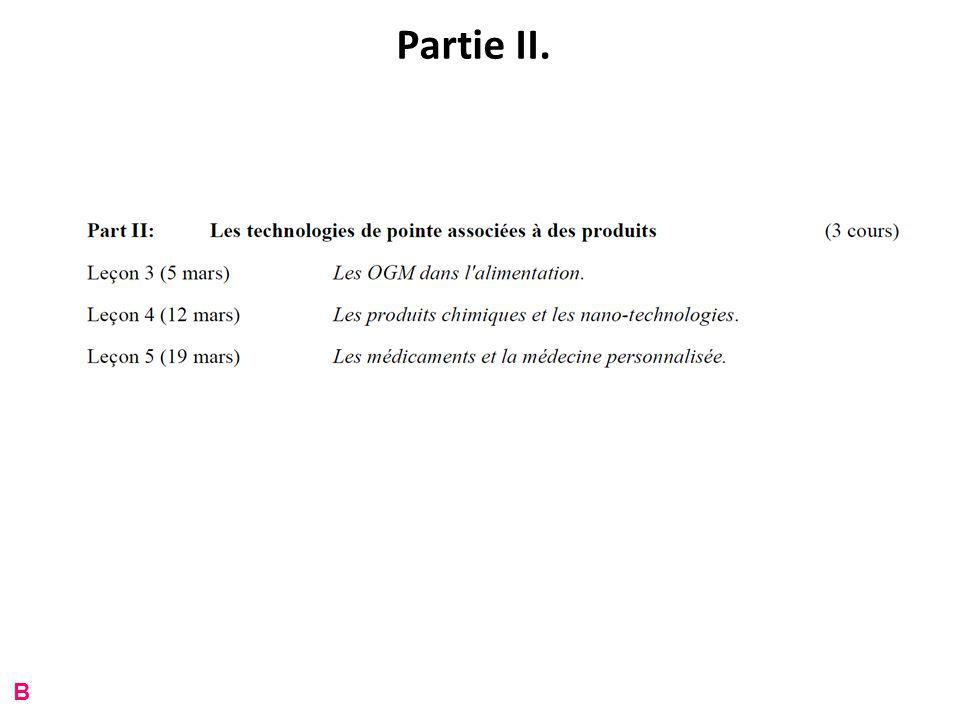 Partie II. B