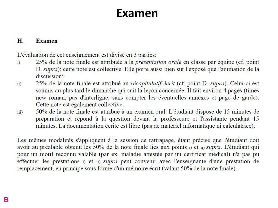 Examen B
