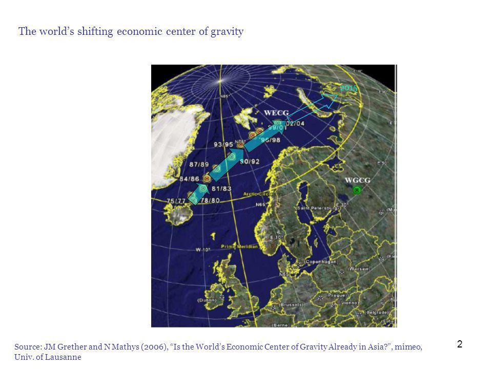 13 Les gains de léchange (i): équilibre initial D D* P P S S* PaPa P* a Country F (relatively inefficient) Country H (relatively efficient) Quantities