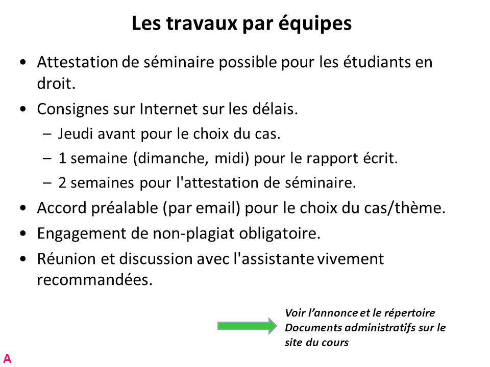 Gros plan sur le moratoire étendu RNT - Prof. Junod - Cours 3 (7.3.2011) 64 B