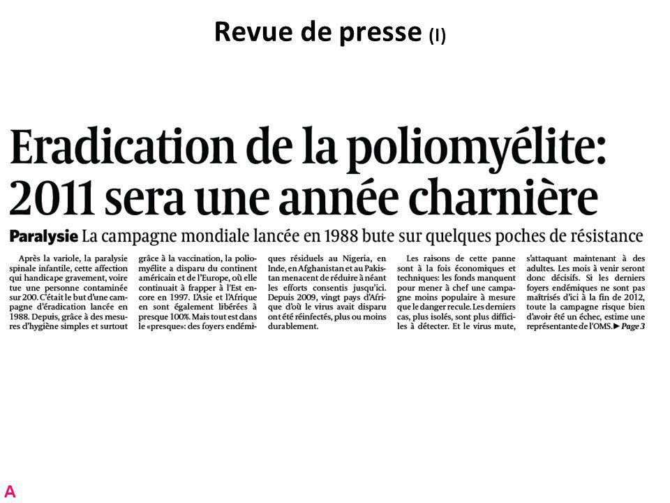 Les révisions récentes: rappel Récemment achevées: –Prolongation du moratoire constitutionnel; consultation en hiver 2008-2009.