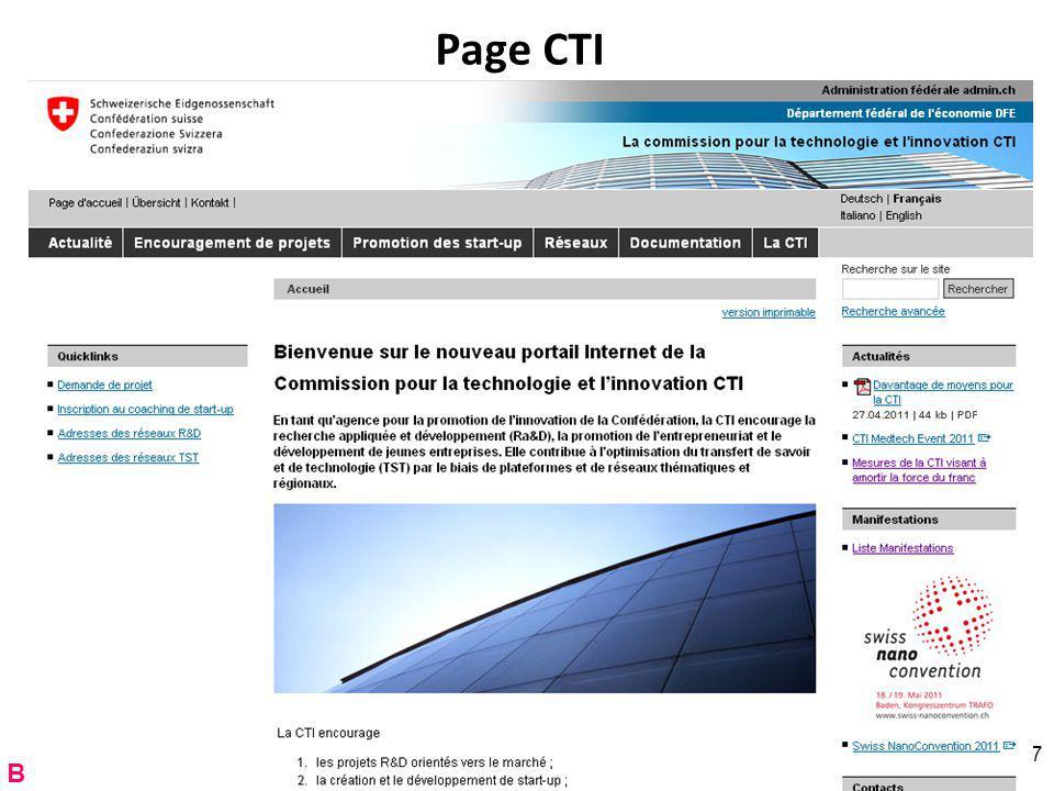 Page CTI RNT - Prof. Junod - Leçon 12 (2.5.2011) 67 B