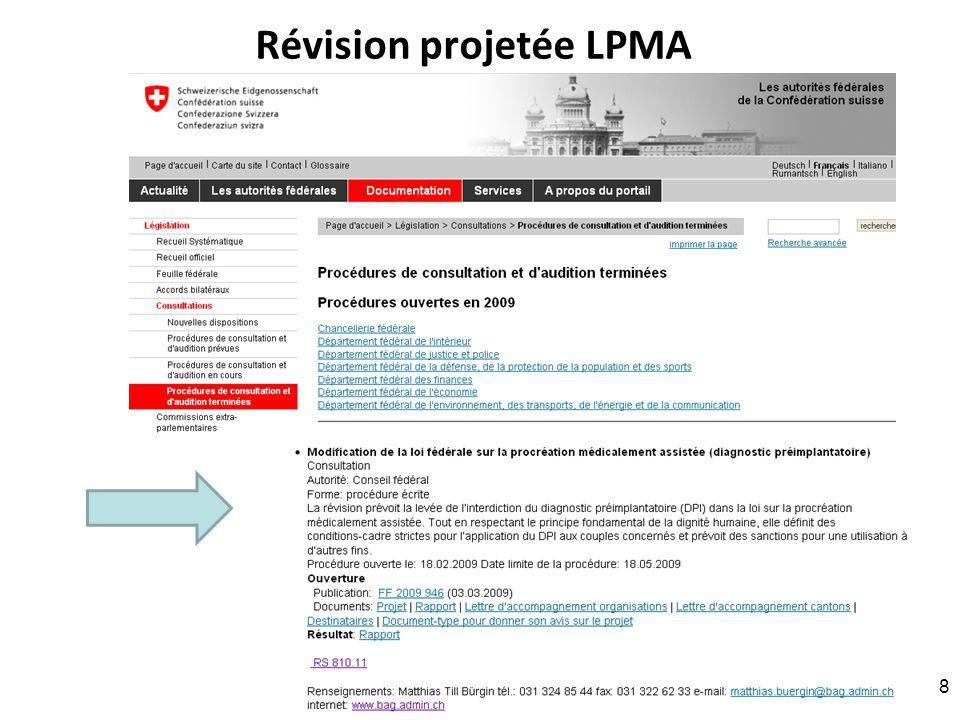 Partie A.5. Les principales mesures RNT - Prof. Junod - Leçon 7 (4.4.2011) A.5