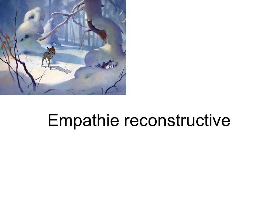 Empathie reconstructive