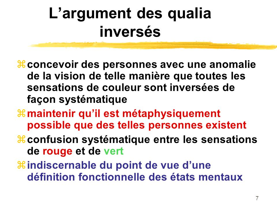 18 Une théorie unifiée de lesprit Tous les états mentaux sont des états fonctionnels dont le trait caractéristique est lintentionnalité (représenter quelque chose).