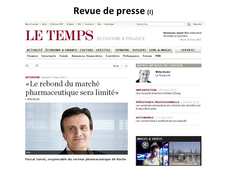 RNT - Prof.Junod - Cours 5 (19.3.2012) 4 Plan de cette leçon Partie A.