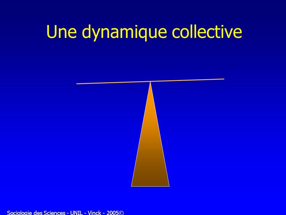Sociologie des Sciences - UNIL - Vinck - 2005© Une dynamique collective