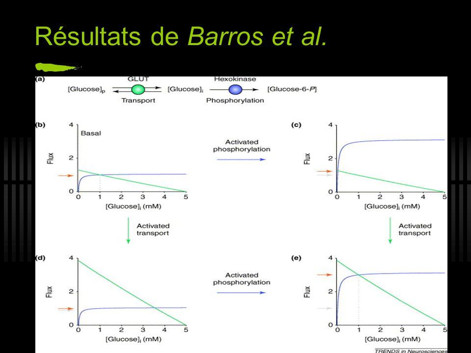 Résultats de Barros et al.