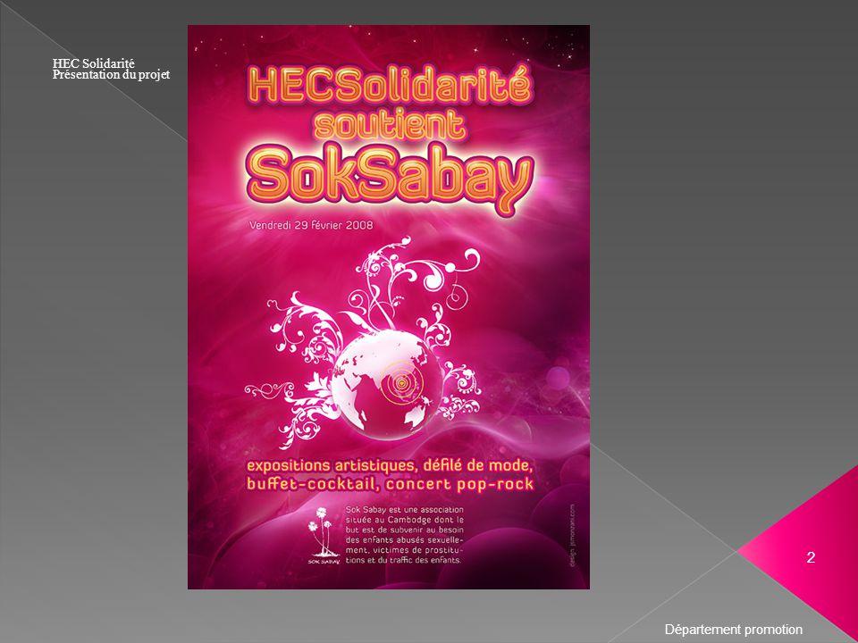 2 HEC Solidarité Présentation du projet