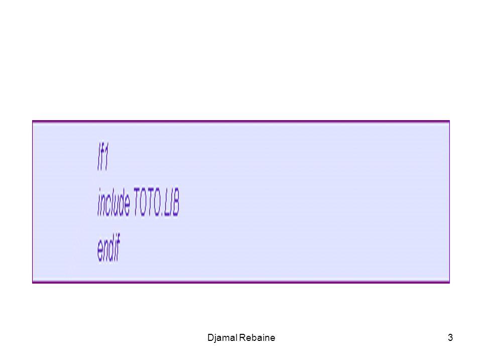 ; Écrire une donnée dans un fichier mov bx, FileHandle2 mov cx, 1 ; Écrire un byte lea dx, buffer ;Place où stocker ce byte mov ah, 40h ; opération décriture int 21h jc MauvaisEcriture cmp ax,1; sassurer que disk nest pas plein jz ReadFileLp ; disk non plein jmp Disk_Plein Djamal Rebaine14