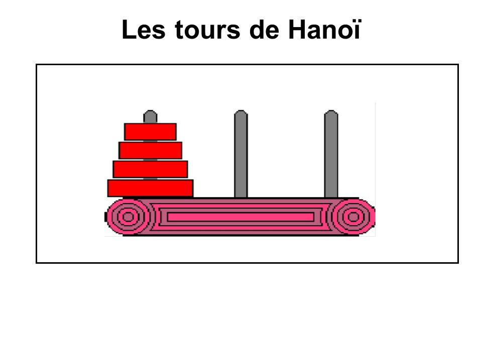 Les tours de Hanoï