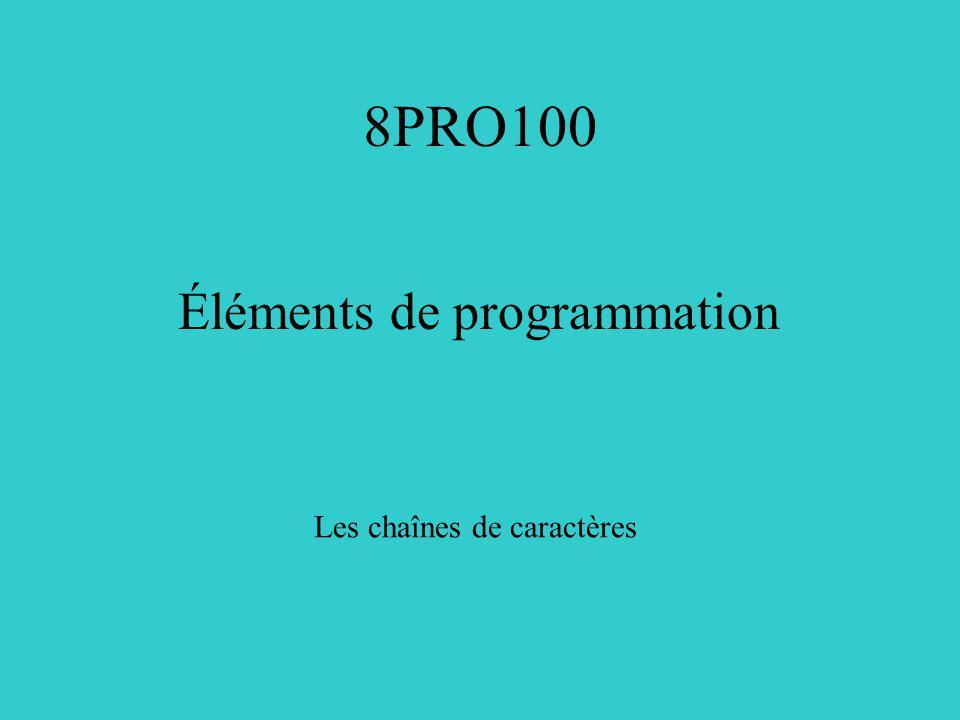 Exemple 1: Copier des fichiers #include /* copie lentrée sur la sortie; première version*/ main(){ int c; c = getchar(); while (c != EOF) { putchar(c); c = getchar(); } Pourquoi un int?