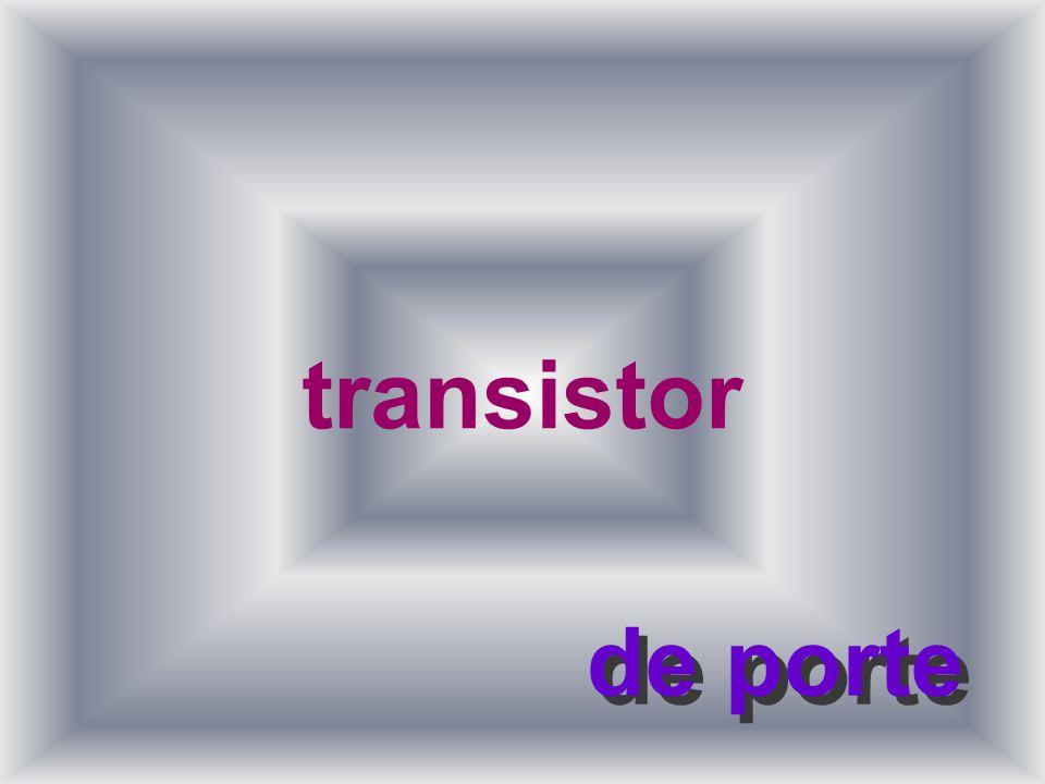 4 Métal semi-conducteur l À létat pur, il ne conduit à peu près pas de courant l Fabrication du transistor avec le silicium