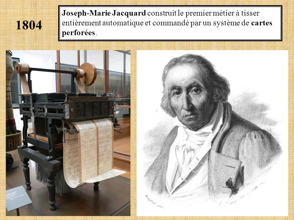 1842. Charles Babbage conçoit sa machine analytique