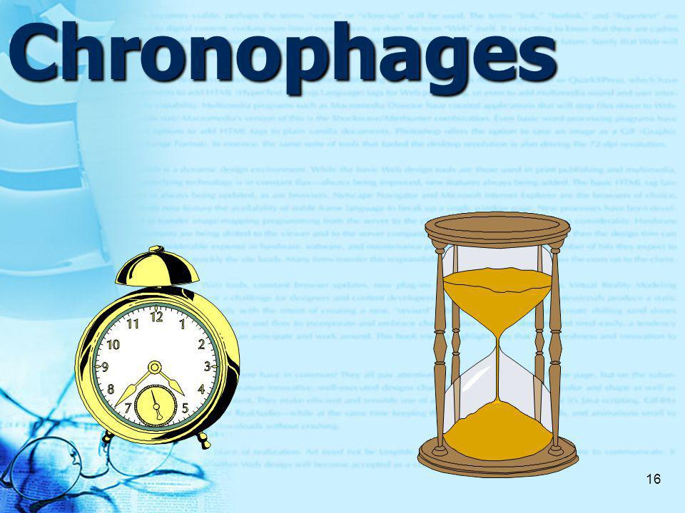 16Chronophages