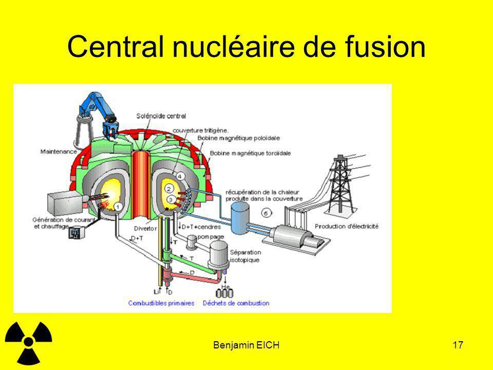 Benjamin EICH17 Central nucléaire de fusion Principe en étude