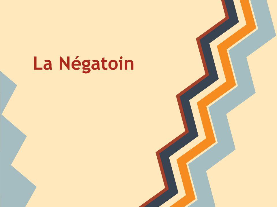 La Négatoin