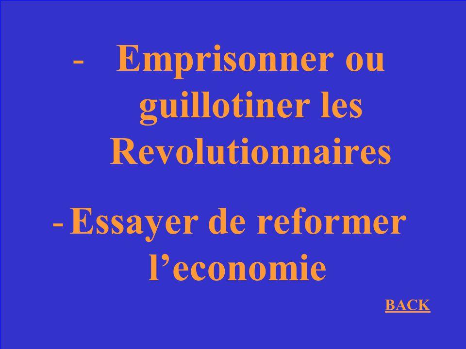 Quelle est une chose que Louis XVI a essaye avant dappeller les Etats- Generaux?
