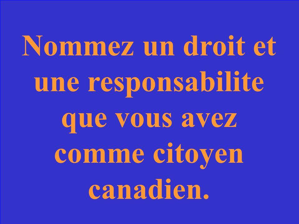 Charte canadienne des droits et libertes BACK