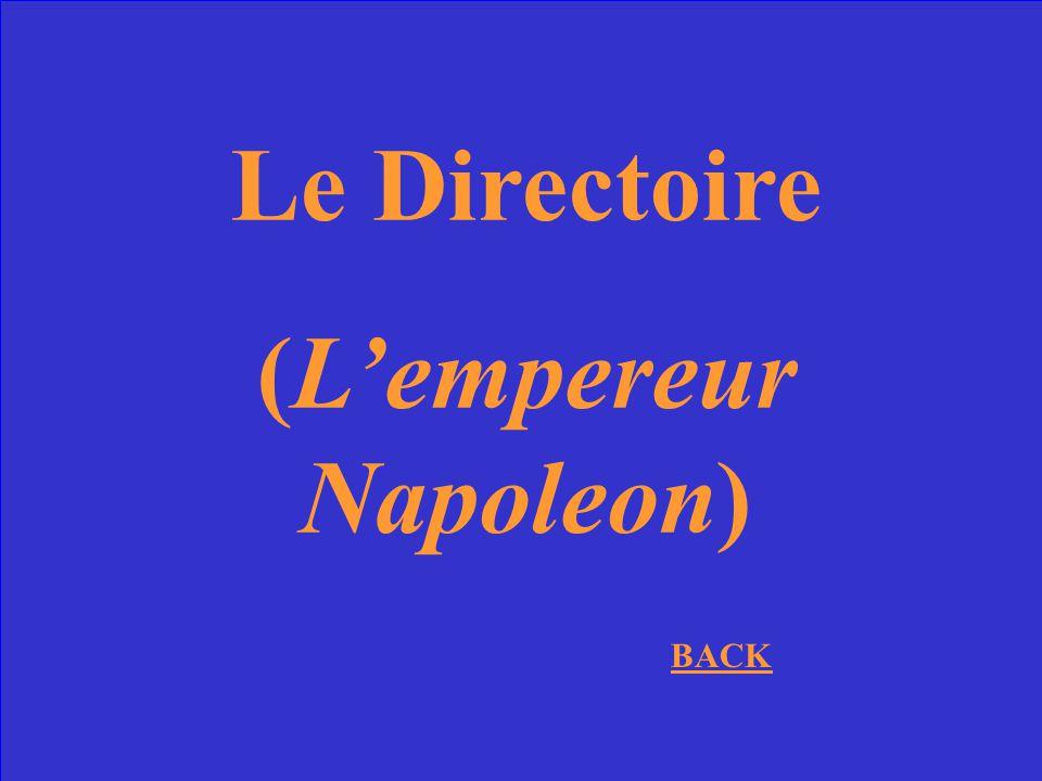 Quel gouvernement remplace le regime de Robespierre? (et 20 points bonus pour nommer aussi le gouvernement dapres celui-la)