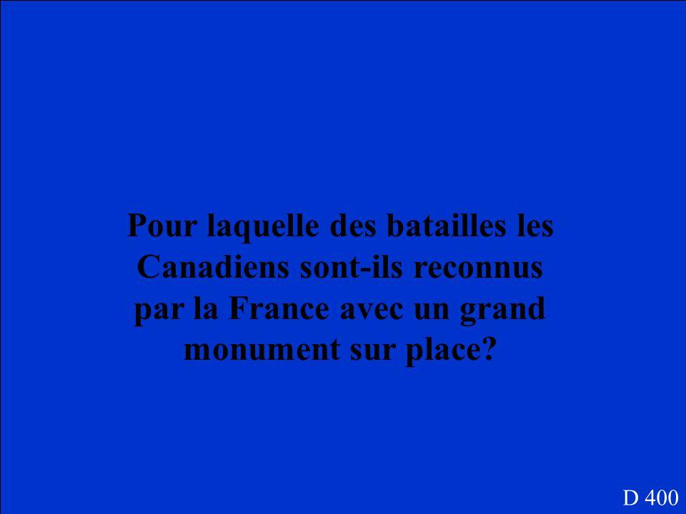 Malgre lattaque de gaz les Canadiens ont tenu leur position. Personne ne gagne. D 300