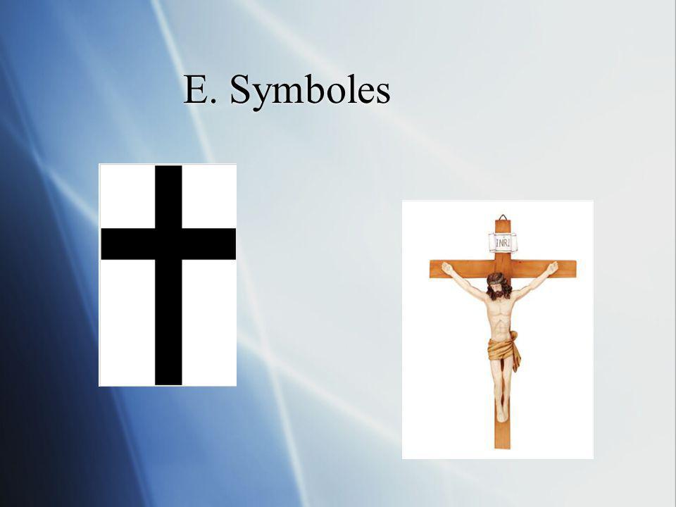 E. Symboles