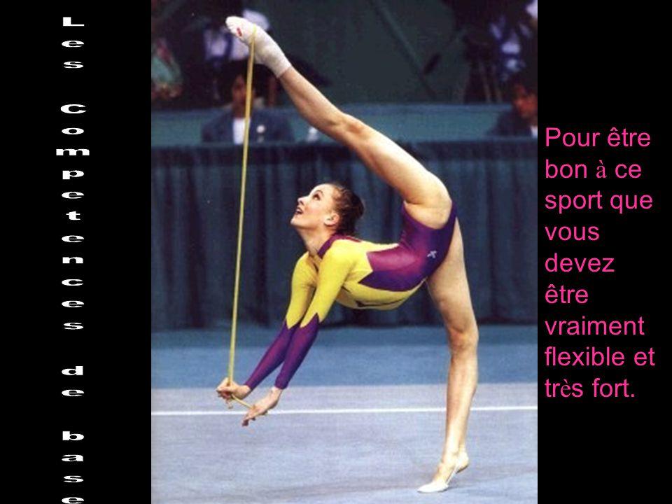Pour être bon à ce sport que vous devez être vraiment flexible et tr è s fort.