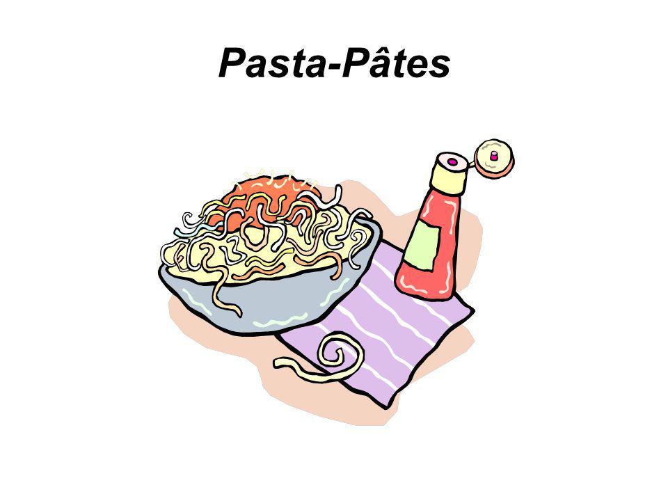 Pasta-Pâtes
