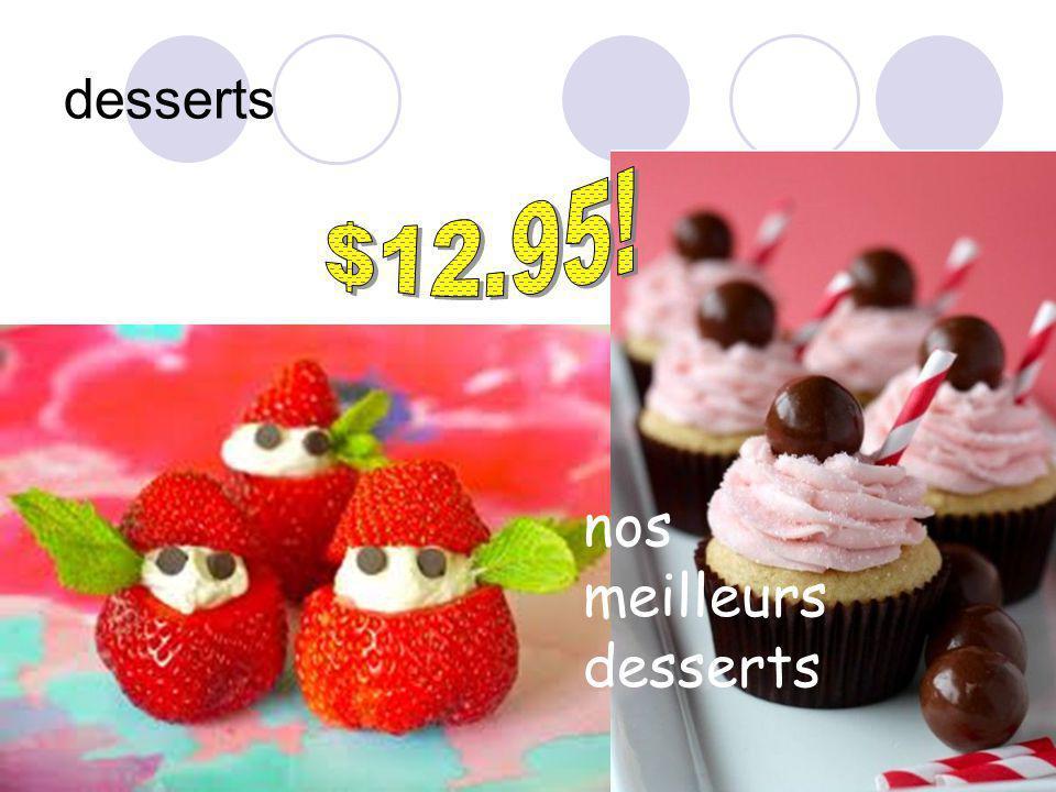 desserts nos meilleurs desserts