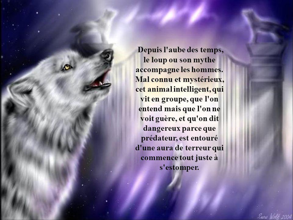 Depuis l aube des temps, le loup ou son mythe accompagne les hommes.