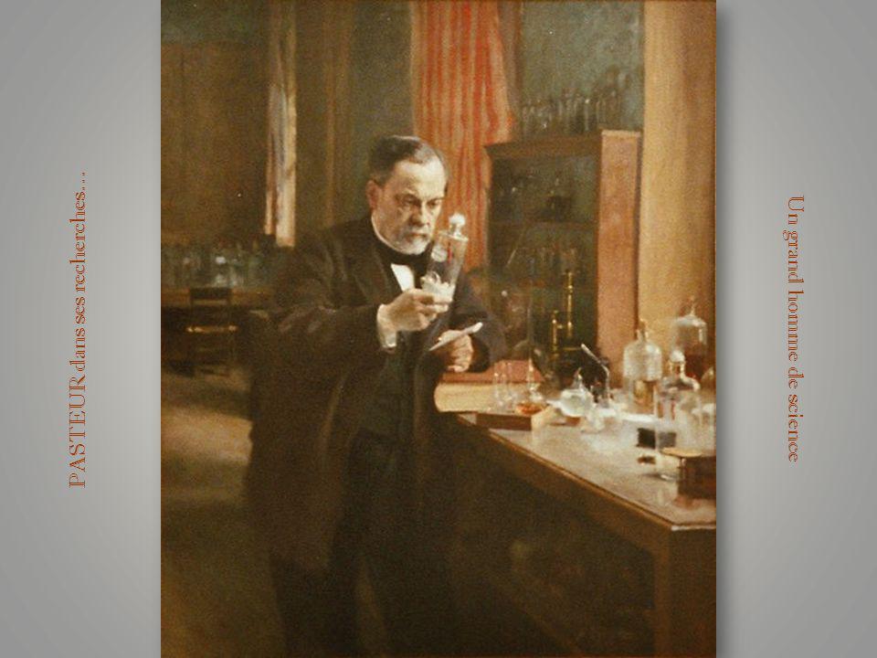 Louis PASTEUR est né à Dole en 1822, cet éminent chercheur qui rendit à la science et lhumanité bien des services, a qui nous devons bien des découver