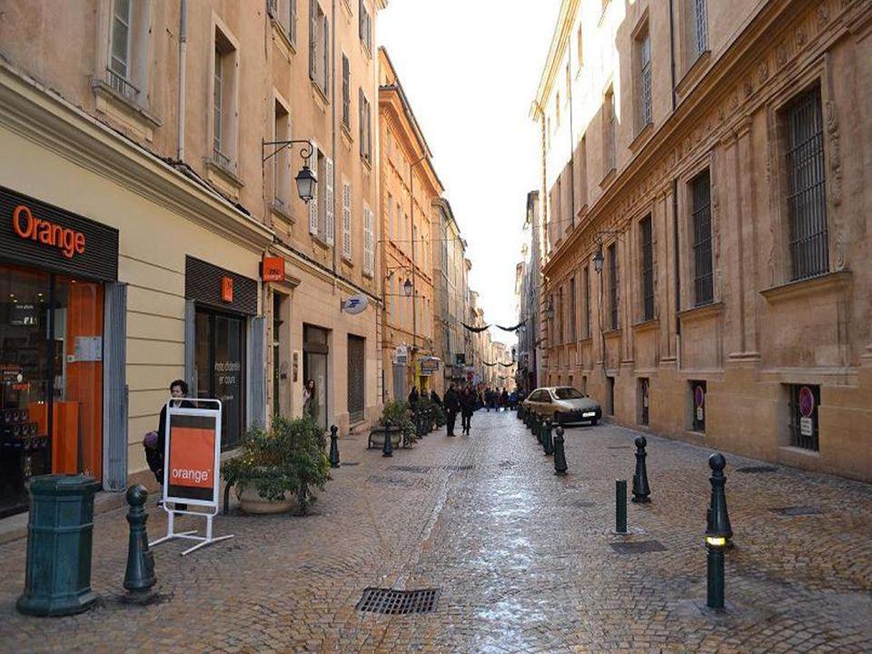 Rue dAix en Provence
