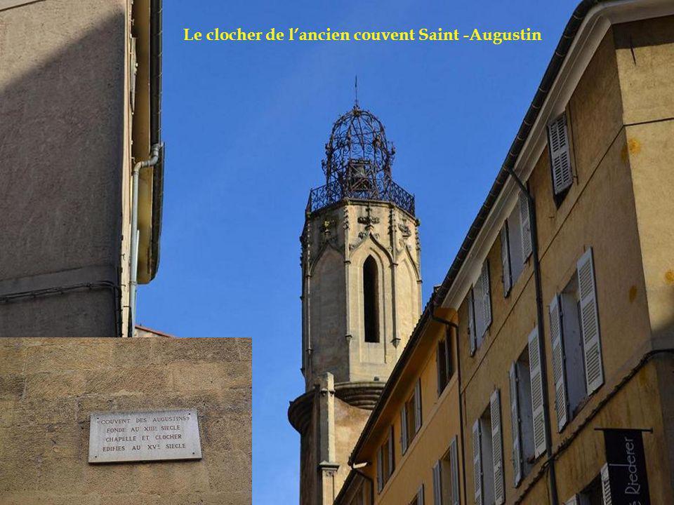 Le clocher de lancien couvent Saint -Augustin