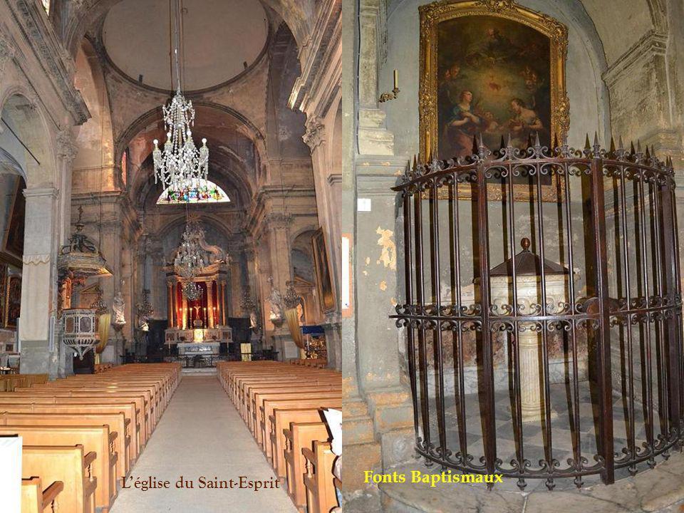 Léglise du Saint-Esprit ( 1706-1728) Le mariage de Mirabeau a été célébré dans cette église…