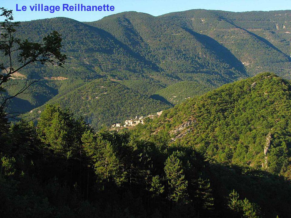 Depuis le col de Laiguillon : le Mt Ventoux