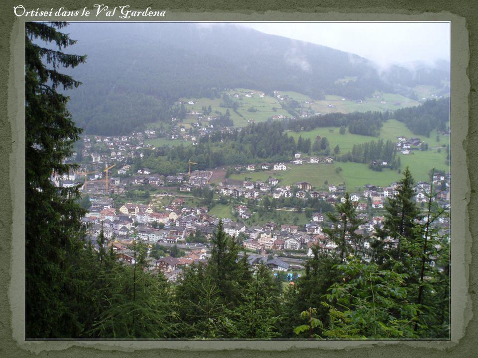 Ortisei dans le Val Gardena