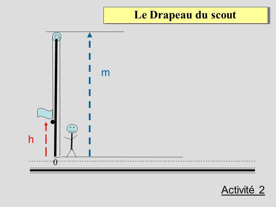 Le Drapeau du scout h m 0 Activité 2