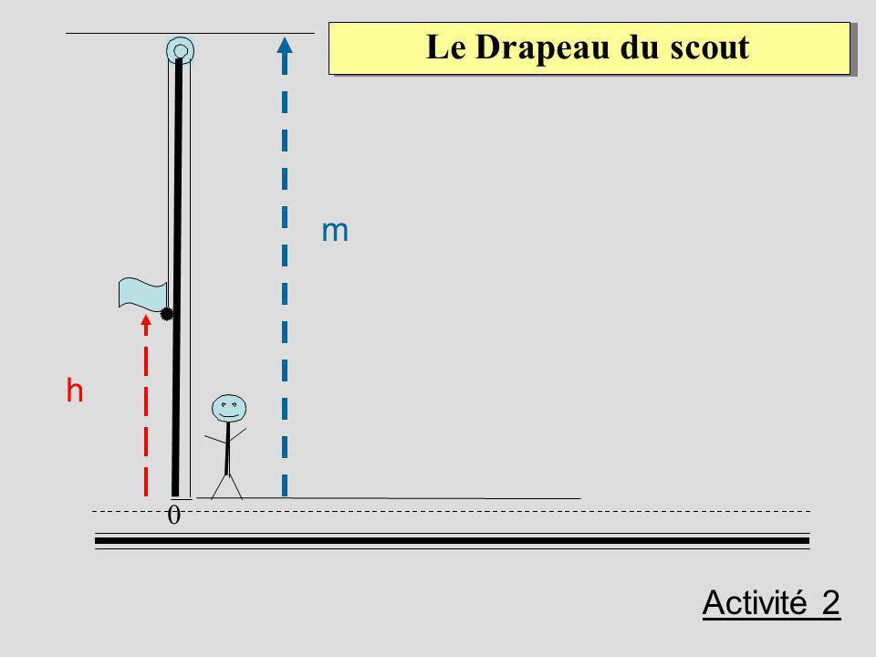 0 Le Drapeau du scout h m Activité 2