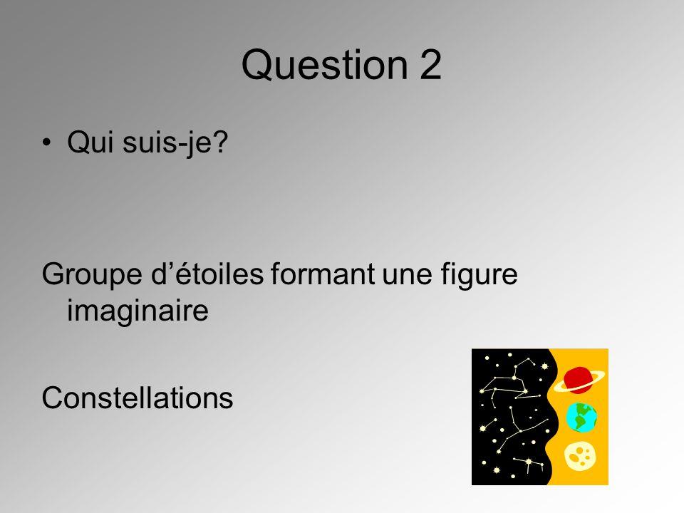 Question 3 Quel est la constellation qui renferme létoile polaire? Petit ourse
