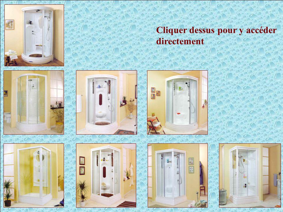 Cabines de douches - Liens Cliquer dessus pour y accéder directement