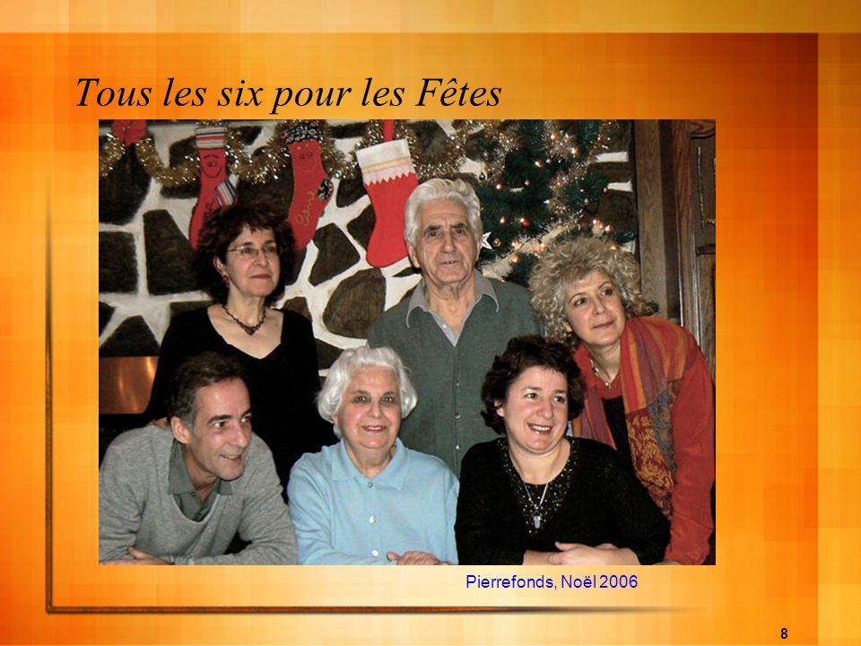 8 Tous les six pour les Fêtes Pierrefonds, Noël 2006