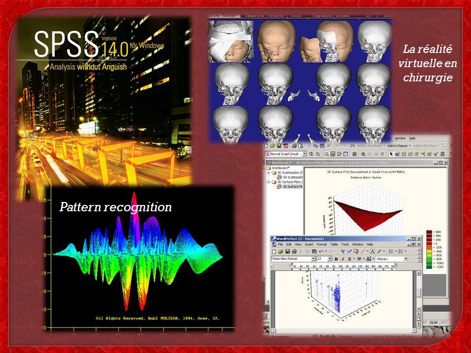 Pattern recognition La réalité virtuelle en chirurgie